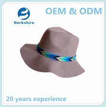 2015 High quality wide brim wool felt hat wool hat