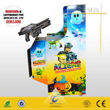 2014 hot sale mini Alien Shooting game, arcade game machine/kids shooting games