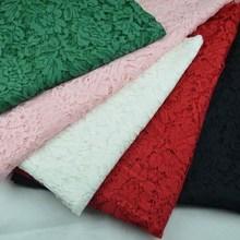 150cm flower 40% nylon polyamide 50% cotton 10% rayon blend lace fabric