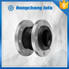 Oil resistant DN32-DN700 single bellow rubber expansion joint