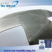 Industrial standard custom made perforated speaker grill sheet metal