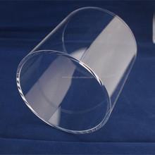 high quality quartz glass heating tube