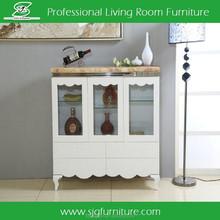 Modern Chinese Furniture Sideboard Marble Top Sideboard in Living Room Furniture