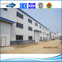 steel roof steel structure or construction prefab small industrial project