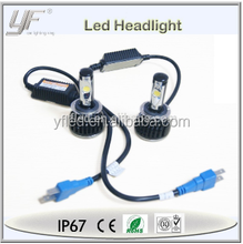 Best selling led lights, universal high power car head lamp h7 h11 9004 9007