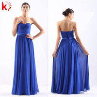 New Arrival Sexy Off Shoulder Fashion Royal Blue Bridesmaid Prom Dress 2015