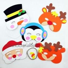 MJ-068 Yiwu Caddy 2015 hot sale new design Christmas eva foam animal mask