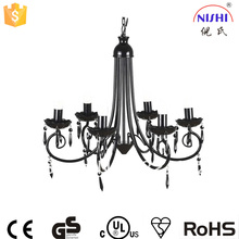 antique chandelier and cheap plastic chandelier crystals /hooks for chandelier crystals NS-120008D