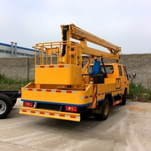 stability, safety,quality,guantee truck mounted aerial work platform trucks