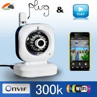 Mini P2P Wifi Wireless Dual Audio Infrared Internet Networking IP Camera