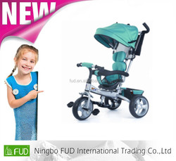 4-in 1 baby tricycle with three wheels at very good price