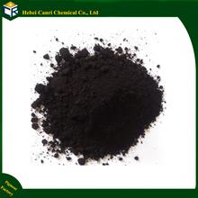 Iron oxide black for acid stain concrete