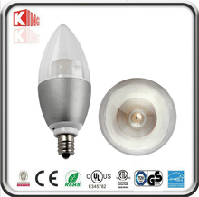 Latest new design rechargeable electric led candle light cob 5w/7w e14 candle lamp