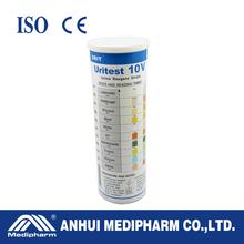 10 Parameters Disposable 10 Parameters Urine Protein Test Strip