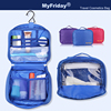 High quality colorful polyest travel clear plastic toiletry bags