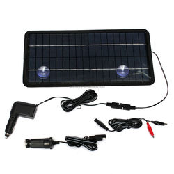 2015 New 12V 8.5W Car Power Solar Panel Battery Charger For RV SUV Truck Boat Marine