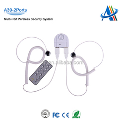 Retail open display security systems,multiple cell phone display security alarm system