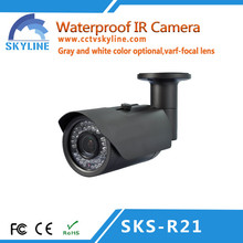 2015 China impermeable CCTV de interior exterior IR cámara de seguridad a distancia