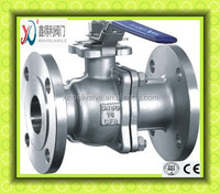 High Mounting Pad 2PC ANSI Flanged Ball valve