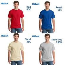 GILDAN plain cotton t-shirt,bulk plain white t-shirts,t-shirt plain