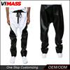 2015 OEM Manufacturer High Quality wholesale Leather Men Jogger Pants