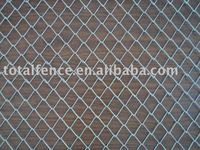 Galvanized Chain Link Wire Mesh Fence (Factory)