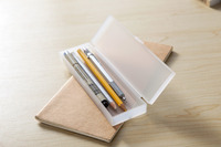 2015 New Arrival Poplular Plastic Useful Office Pencil Box Pcencil Case