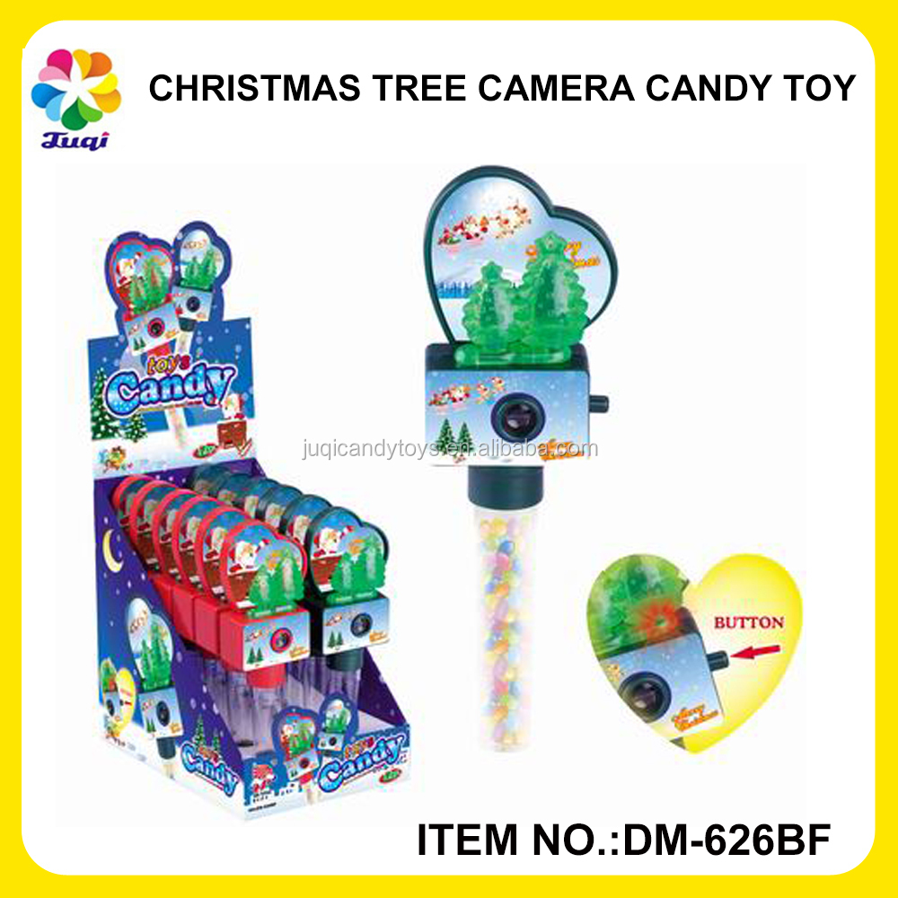 Christmas Decoration Led Light Mini Christmas Tree With Christmas Viewer And Reels