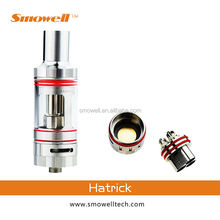 Smowell hatrick triple coil atomizer tank fit for infinite stingray mod&inspires mini box mod