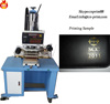 Hot stamping machine for T-shirt clothes leather bag