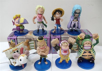 Fifty Eight Generations One Piece Wholesale PVC 8 cm Express Action Figure