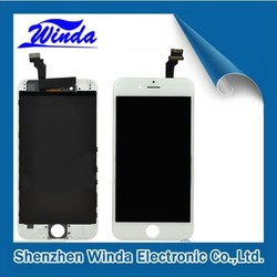 Best Selling Black and White 4 inches LCD for iphone 6 LCD screen 32gb