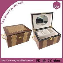 new design wood beautiful jewelry box Dubai