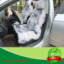 China wholesale sheep skin long fur car seat cover