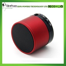Professional OEM services 3W portable mini bluetooth speaker with TF card, FM and smart voice handsfree for mobile phones