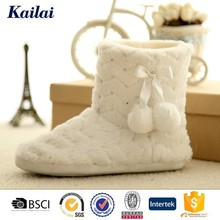 Stylish ornate comfortable sheep wool boots for women