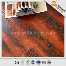 Embossed In Registered 12mm Laminate Flooring With V Groove