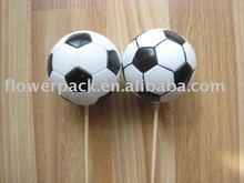 Foot ball decoration pick
