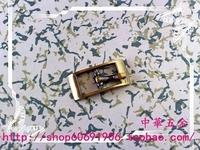 DIY luggage leather handbags bags hardware fittings of 1cm inner diameter on the word pin buckle Qing Gu sweep
