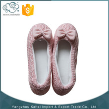 Hot sale elegant soft knitted spanish dance shoes