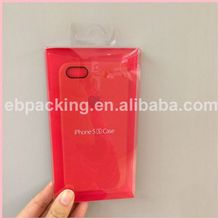 New mobile phone case box/cell phone case box plastic