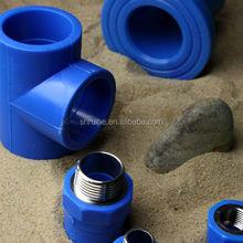 Brazilian market OEM blue color drink water plastic ppr tube ppr pipe fitting