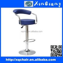 Faux leather swivel bar stool PU bar chair