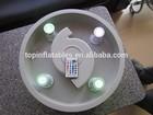 Ar do ventilador com diodo emissor de luz, ventilador de ar inflável para produtos de decoração