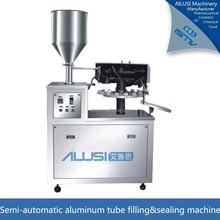 Alilusi semi-automatic aluminum tube filling and sealing machine