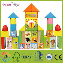 Wholesale Kids Animals Wooden Toys Educational Building Block