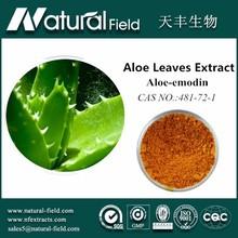 wholesale manufacturer nature aloe vera p.e.98% emodin