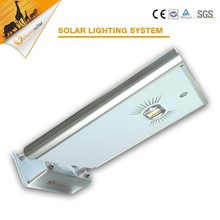 15W IP65 Solar Panel Integrated Solar Street Light , led Street Light All-in-one