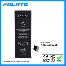 """1810mAh Internal Replacement Part Battery for iPhone 6 4.7"""" 616-0804"""
