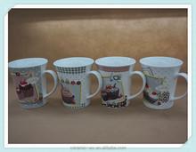 2015 hot selling Sweet ceramic Souvenir Mugs, Ice Cream Cake Gift Souvenir Mugs, High Quality Souvenir Mugs Gift